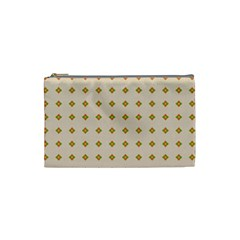 Pattern Background Retro Cosmetic Bag (Small)