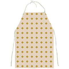 Pattern Background Retro Full Print Aprons