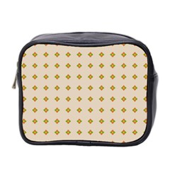 Pattern Background Retro Mini Toiletries Bag 2-Side