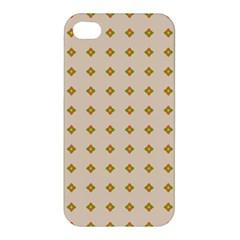 Pattern Background Retro Apple iPhone 4/4S Hardshell Case