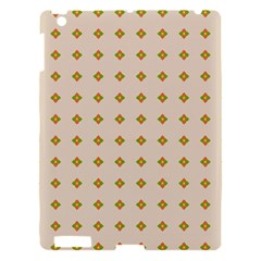Pattern Background Retro Apple Ipad 3/4 Hardshell Case