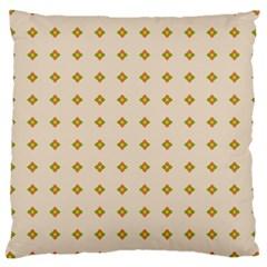 Pattern Background Retro Large Cushion Case (One Side)