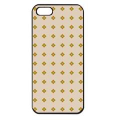 Pattern Background Retro Apple iPhone 5 Seamless Case (Black)
