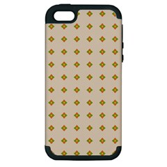 Pattern Background Retro Apple iPhone 5 Hardshell Case (PC+Silicone)