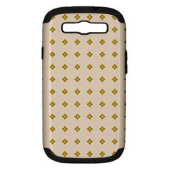 Pattern Background Retro Samsung Galaxy S Iii Hardshell Case (pc+silicone)