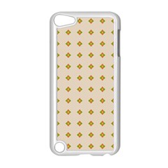 Pattern Background Retro Apple iPod Touch 5 Case (White)
