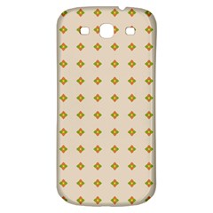 Pattern Background Retro Samsung Galaxy S3 S III Classic Hardshell Back Case