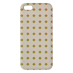 Pattern Background Retro iPhone 5S/ SE Premium Hardshell Case