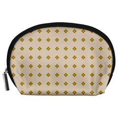 Pattern Background Retro Accessory Pouches (Large)
