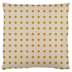 Pattern Background Retro Large Flano Cushion Case (Two Sides)