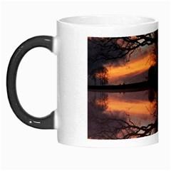 Aurora Sunset Sun Landscape Morph Mugs