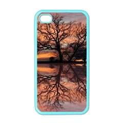 Aurora Sunset Sun Landscape Apple Iphone 4 Case (color)