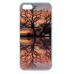 Aurora Sunset Sun Landscape Apple Seamless Iphone 5 Case (color)