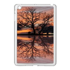 Aurora Sunset Sun Landscape Apple iPad Mini Case (White)
