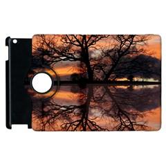 Aurora Sunset Sun Landscape Apple iPad 3/4 Flip 360 Case