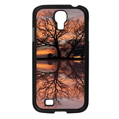Aurora Sunset Sun Landscape Samsung Galaxy S4 I9500/ I9505 Case (Black)