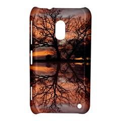 Aurora Sunset Sun Landscape Nokia Lumia 620