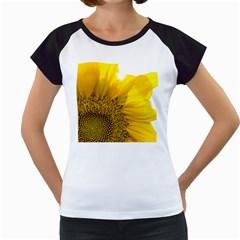 Plant Nature Leaf Flower Season Women s Cap Sleeve T