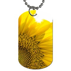 Plant Nature Leaf Flower Season Dog Tag (two Sides)