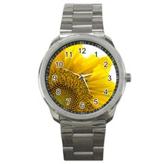 Plant Nature Leaf Flower Season Sport Metal Watch
