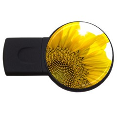 Plant Nature Leaf Flower Season Usb Flash Drive Round (4 Gb)