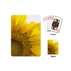 Plant Nature Leaf Flower Season Playing Cards (Mini)