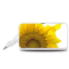 Plant Nature Leaf Flower Season Portable Speaker (White)