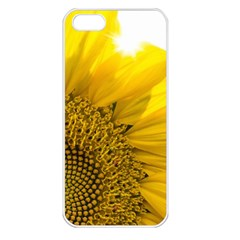 Plant Nature Leaf Flower Season Apple iPhone 5 Seamless Case (White)