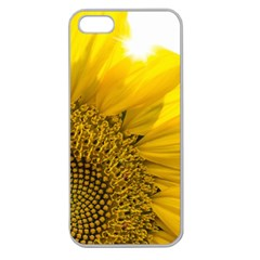 Plant Nature Leaf Flower Season Apple Seamless iPhone 5 Case (Clear)