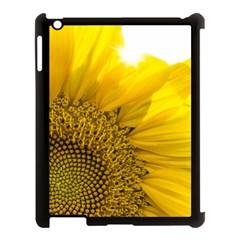 Plant Nature Leaf Flower Season Apple iPad 3/4 Case (Black)