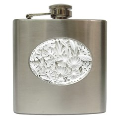 Pattern Motif Decor Hip Flask (6 oz)