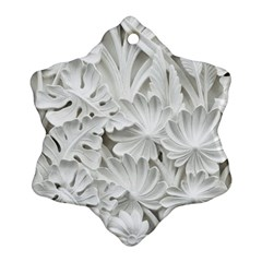 Pattern Motif Decor Ornament (Snowflake)