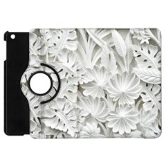 Pattern Motif Decor Apple iPad Mini Flip 360 Case