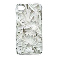 Pattern Motif Decor Apple Iphone 4/4s Hardshell Case With Stand