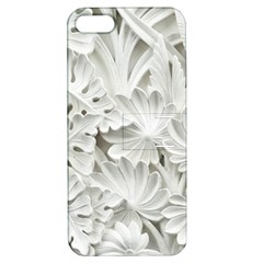 Pattern Motif Decor Apple iPhone 5 Hardshell Case with Stand