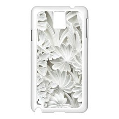 Pattern Motif Decor Samsung Galaxy Note 3 N9005 Case (white)