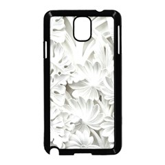Pattern Motif Decor Samsung Galaxy Note 3 Neo Hardshell Case (Black)