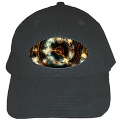 Science Fiction Energy Background Black Cap