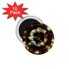 Science Fiction Energy Background 1 75  Magnets (10 Pack)
