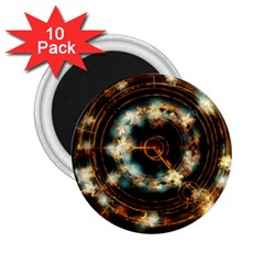 Science Fiction Energy Background 2 25  Magnets (10 Pack)