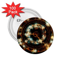 Science Fiction Energy Background 2 25  Buttons (100 Pack)