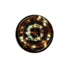 Science Fiction Energy Background Hat Clip Ball Marker (10 pack)