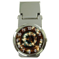 Science Fiction Energy Background Money Clip Watches