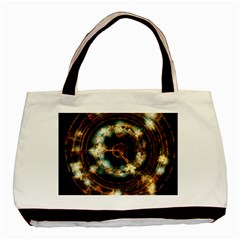 Science Fiction Energy Background Basic Tote Bag