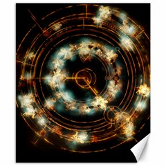 Science Fiction Energy Background Canvas 8  X 10