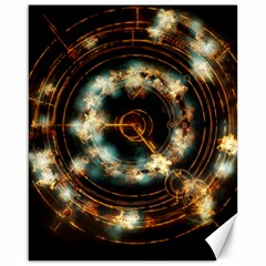 Science Fiction Energy Background Canvas 16  X 20