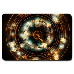 Science Fiction Energy Background Large Doormat