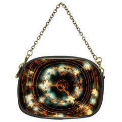 Science Fiction Energy Background Chain Purses (One Side)