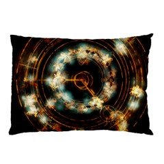 Science Fiction Energy Background Pillow Case