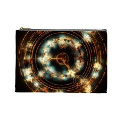 Science Fiction Energy Background Cosmetic Bag (Large)